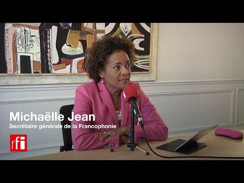 """""""Tous les défis nous concernent !"""", affirme Michaëlle Jean, SG de l"""