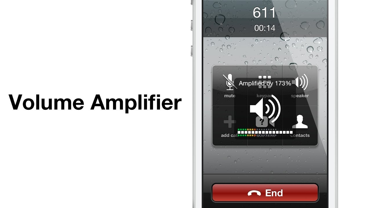Volume Amplifier boosts phone call volume by 200%