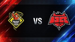 TORNADO.ROX vs Hellraisers - day 1 week 3 Season I Gold Series WGL RU 2016/17