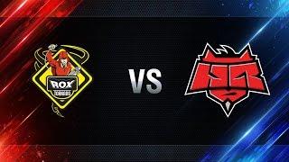 TORNADO.ROX vs Hellraisers - day 1 week 3 Season I Gold Series WGL RU 2016/17
