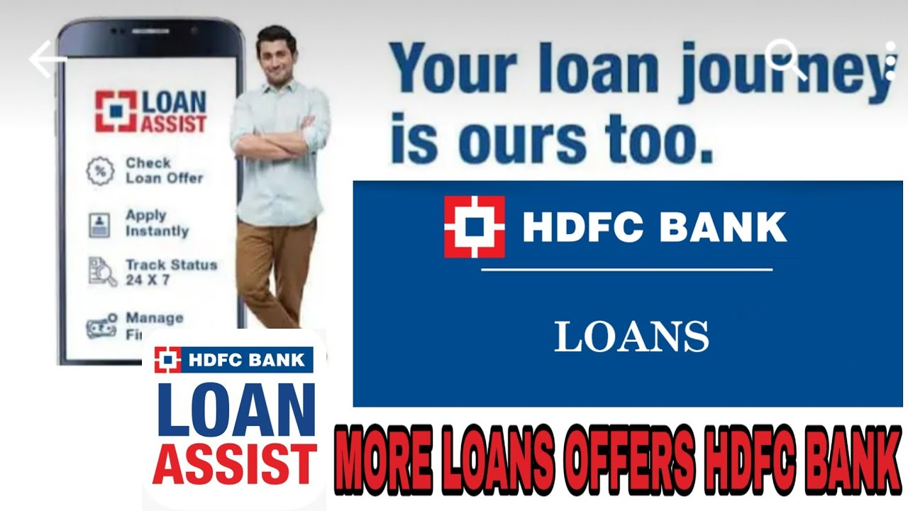 HDFC bank personal loan|Loan Assist|business loan and more ...