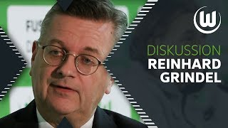"""""""Von irgendwelchen Super-Leagues ist keine Rede mehr"""" Reinhard Grindel beim VfL  Podiumsdiskussion"""