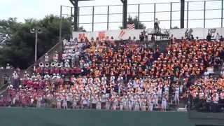平成25年7月14日 群馬大会3回戦 高崎商対関東学園大付 高崎城南球場.