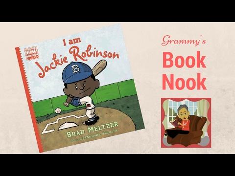 I am Jackie Robinson  Children's Books Read Aloud