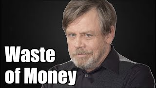 Lol - Mark Hamill Tells Someone To NOT Spend Money On Rise Of Skywalker!