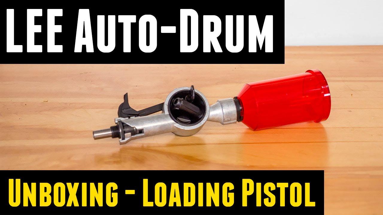 LEE Auto Drum Powder Measure: Unboxing, Overview, Loading ...