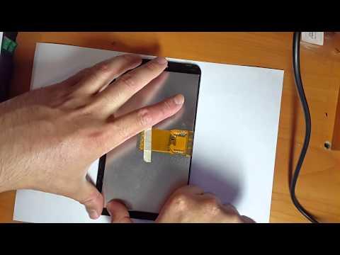 Замена дисплея на планшете Explay HIT