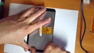 видео Планшет Explay Hit разбор и замена тачскрина ( сенсорного стекла)