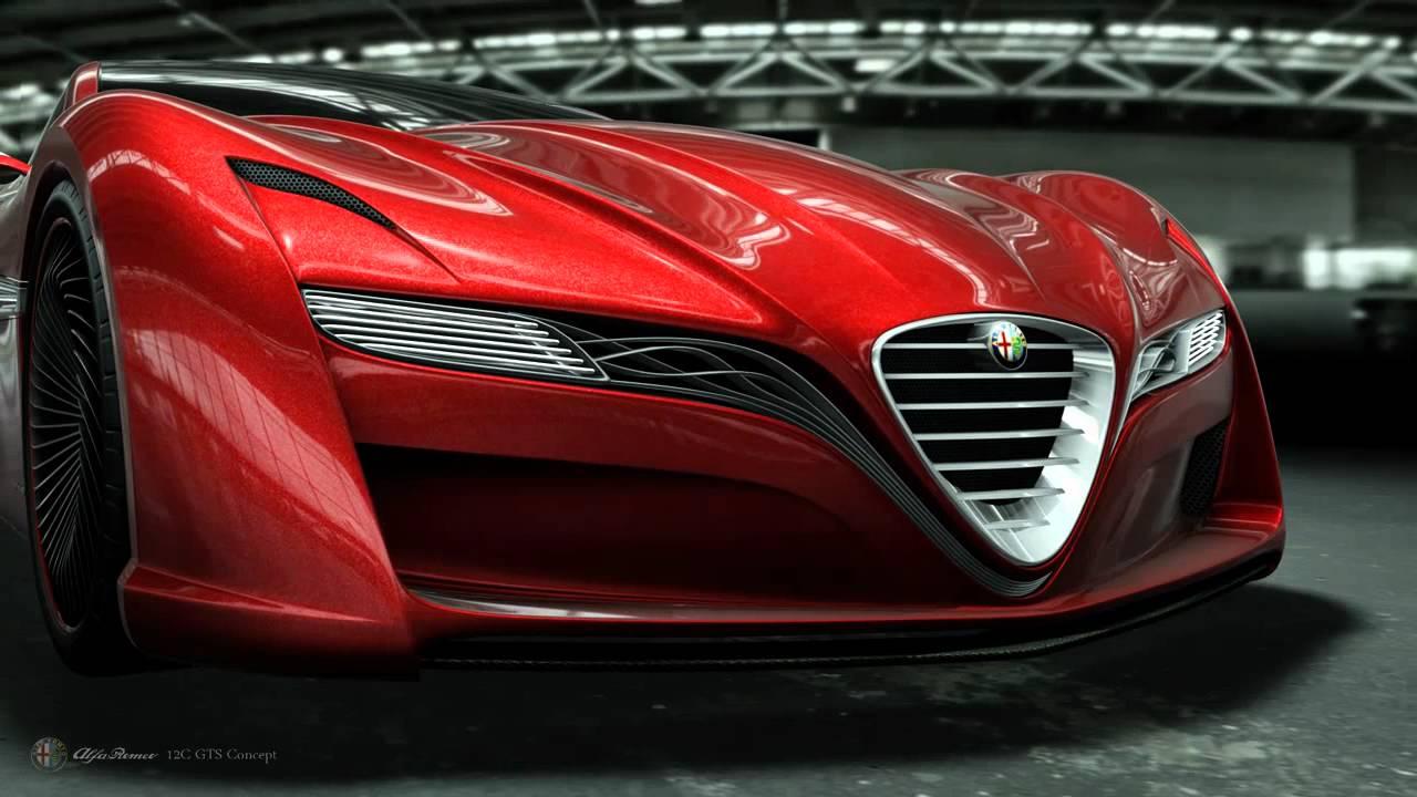 Ugur Sahin Design Alfa Romeo 12c Gts Concept Animation Youtube