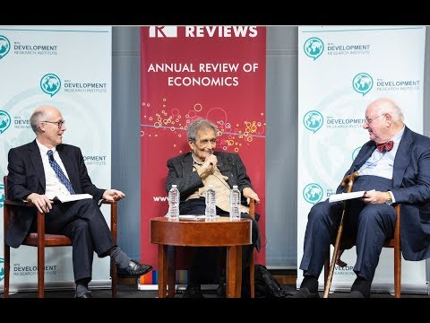 "Angus Deaton in Conversation with Amartya Sen, ""Economics with a Moral Compass?"""