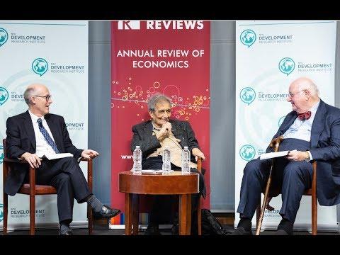 Angus Deaton in Conversation with Amartya Sen,