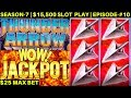Thunder Arrow Slot Machine HANDPAY JACKPOT | High Limit KONAMI Slot Jackpot | SEASON-7 | EPISODE #10