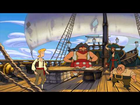"""The Curse of Monkey Island"" (1997) Song: ""A Pirate I Was Meant To Be"" - PC"