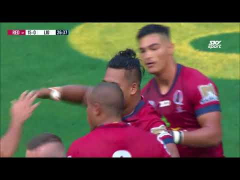 ROUND 11 HIGHLIGHTS: Reds v Lions - 2018
