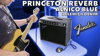 Fender 2020 Limited Edition Princeton Reverb Chilewich Denim - First Look and Impressions