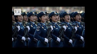 China national day parade: Xi Jinping flaunts military power I FT