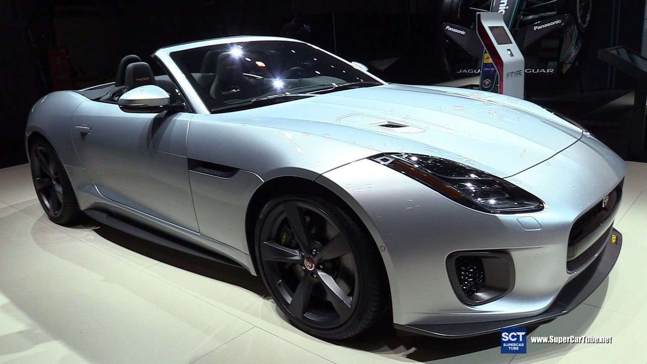 2018 Jaguar F Type 400 Sport Convertible   Exterior And Interior Walkaround   2017 New York Auto Show