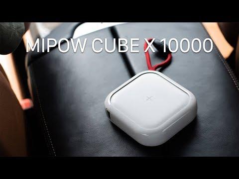 Trên tay pin không dây USB C Mipow Cube X 10000mAh