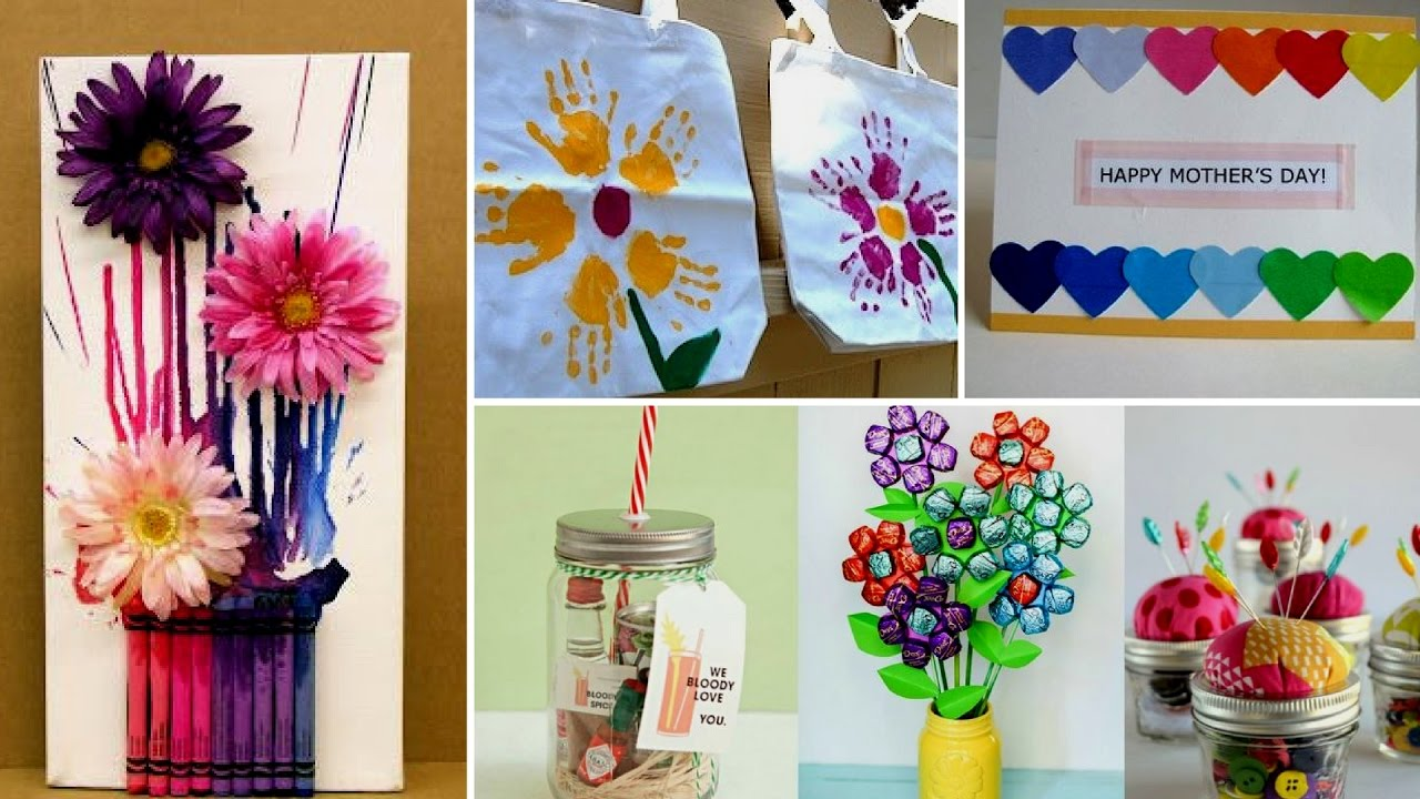 Easy Mother S Day Crafts For Kids Youtube