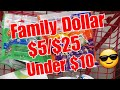 Family Dollar || $5/$25 || Friday & Saturday Only
