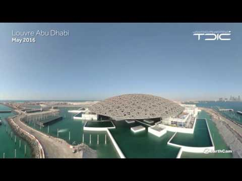 Louvre Abu Dhabi transformed into a 'museum on the sea'