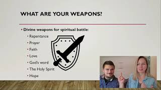 Take Up The Divine Weapons God Has Given Us & Take Every Thought Captive! - Bible Study by NHEPB