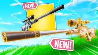 *NEW* SUPPRESSED SNIPER IS OP! | Fortnite Best Moments #110 (Fortnite Funny Fails & WTF Moments)