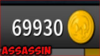 Crafting My Knives For Over 69,000 Coins! (Roblox Assassin)