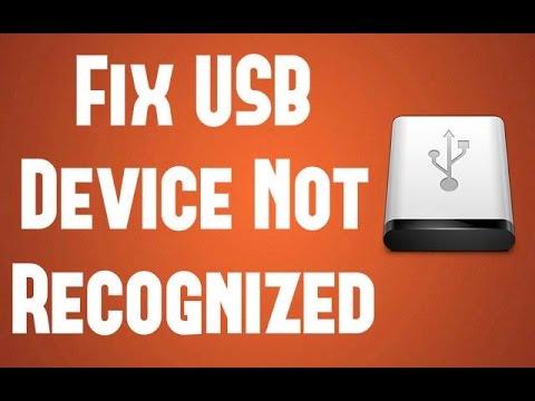 Fix USB Device Not Recognized (Device Descriptor Request Failed)
