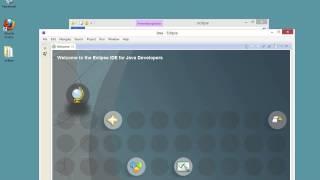Installation von Java und Eclipse: Windows 8