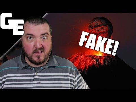 Volcanoes Are Fake Because Earth Is Flat || Comments Of The Day thumbnail
