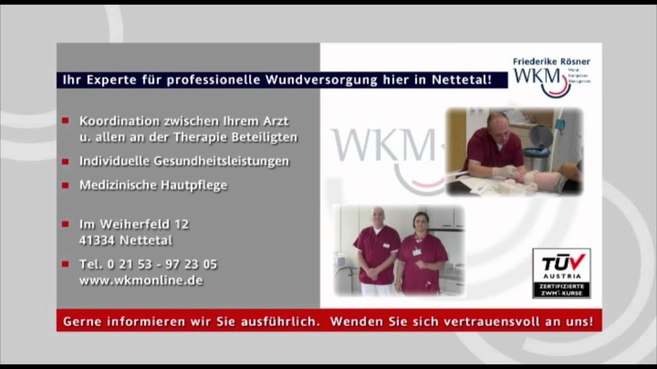 WKM - Ihr Experte für professionelle Wundversorgung hier in Nettetal ...