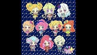 Những hình ảnh Chibi của tất cả nhân vật trong Aikatsu Stars