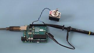 Improve your Arduino programming skills - The budget oscilloscope.