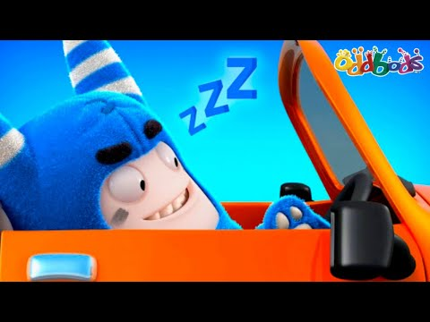 Oddbods | NEW | Traffic Jam | Funny Cartoons For Kids