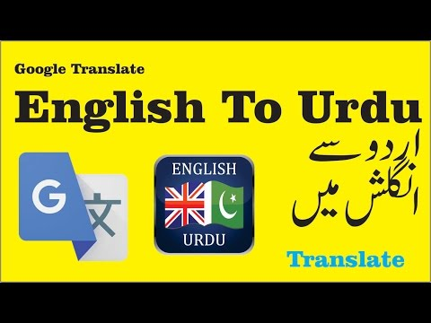 Google Translate  English To Urdu | Camera Instant Translation |