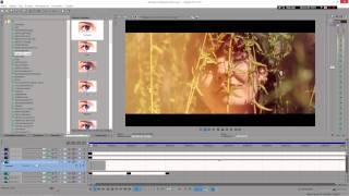 Монтаж и цветокоррекция свадебного клипа