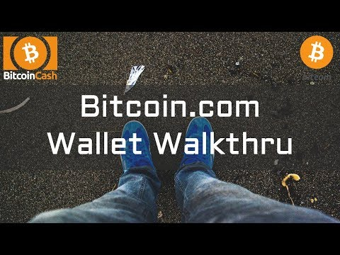 Bitcoin.com Wallet Walkthru - Send And Receive Bitcoin Cash