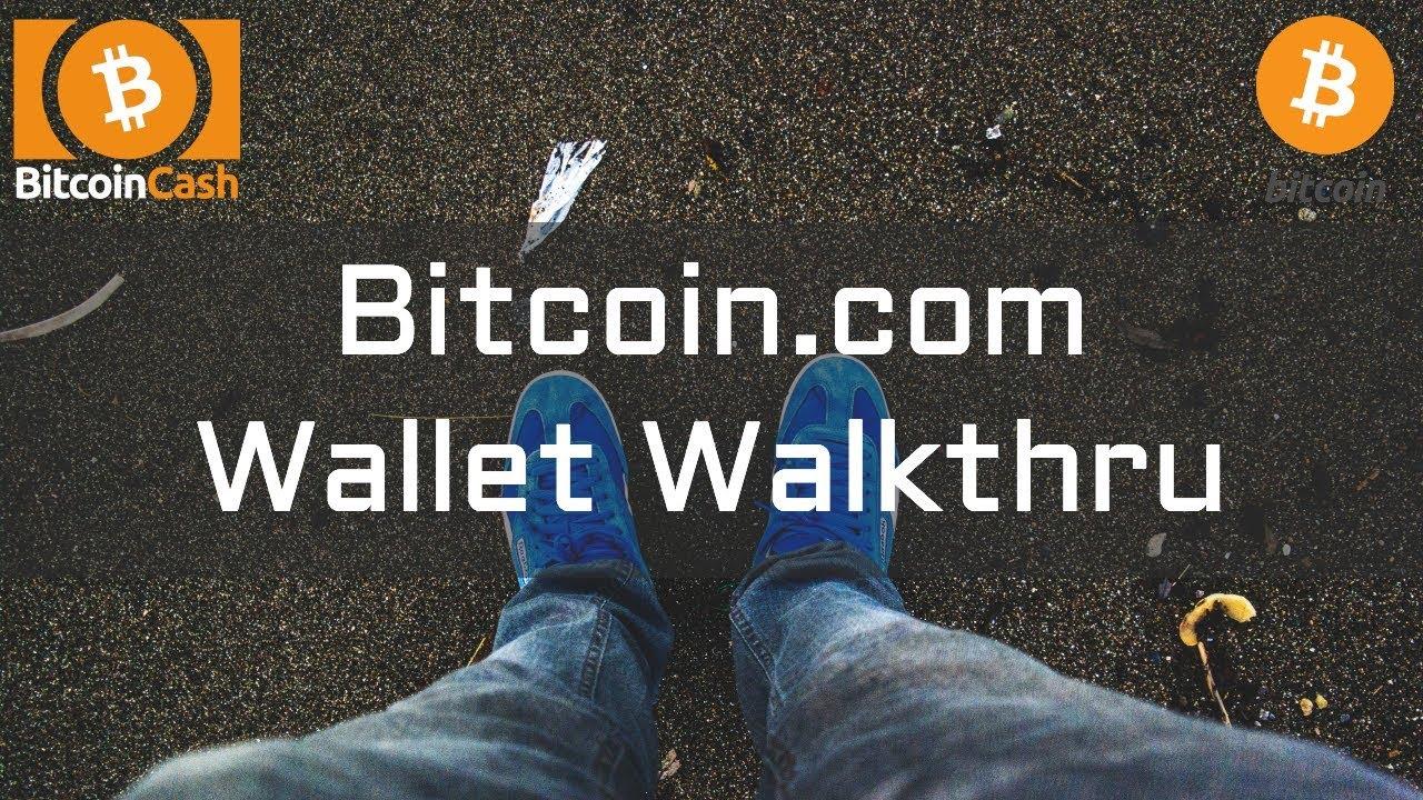Bitcoin.com Wallet Walkthru - Send and Receive Bitcoin Cash