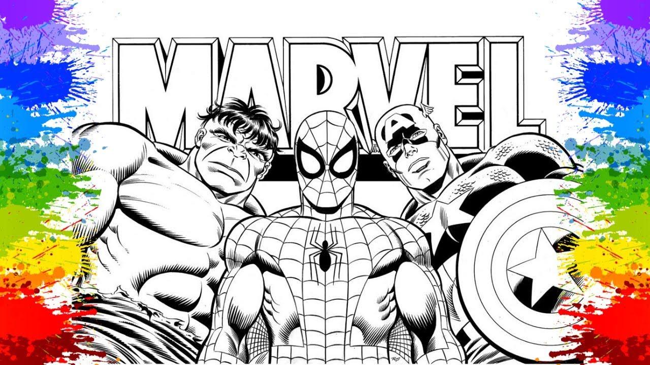 super herois desenho homem aranha hulk capitão américa videos