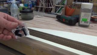 Gleise einschottern  mit einer Schotterhilfe