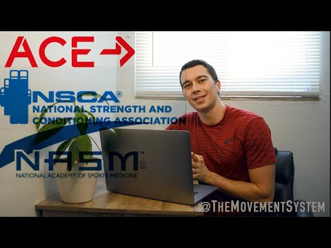Top 3 Personal Training Certifications EXPLAINED How to Get Certified