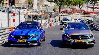 De Monegaskische Politie Jaagt op Supercars! *Chaos*