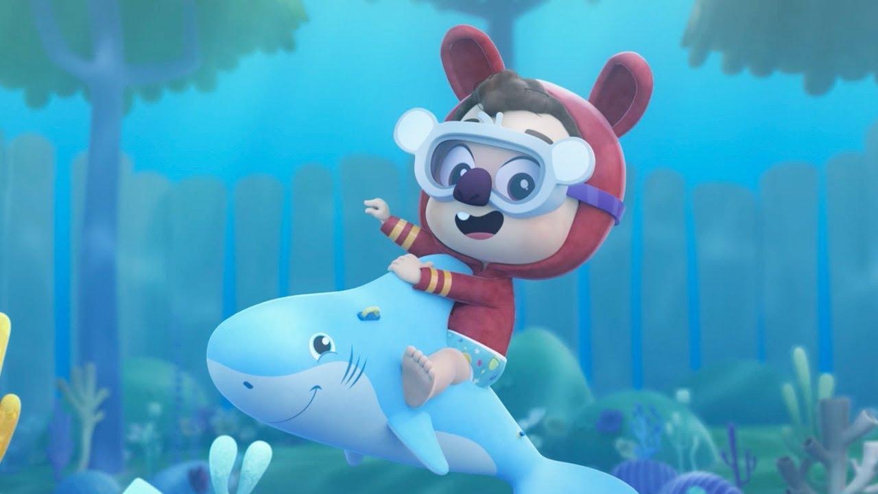 Baby Shark com Lea e Pop | O Reino Infantil