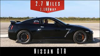 2009 Nissan GTR (Top Speed Test) |1000HP+ Monster|