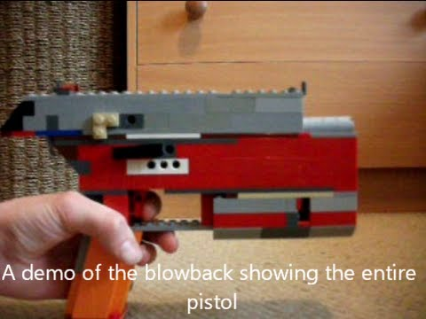 how to build a lego pistol