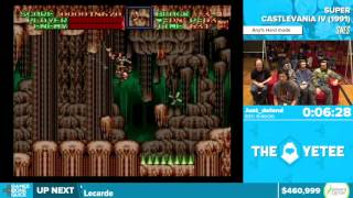 Super Castlevania IV by Just_defend in 36:55 - Awesome Games Done Quick 2016 - Part 107