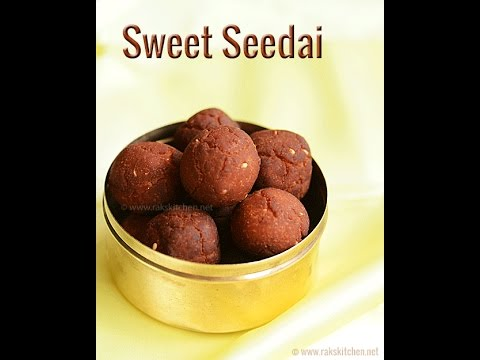 Vella Seedai | Sweet Seedai Recipe | Traditional South Indian Gokulashtami Sweet