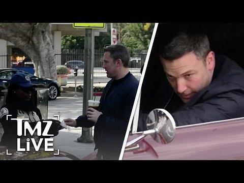 Randy Rose - Ben Affleck Hugs Parking Officer