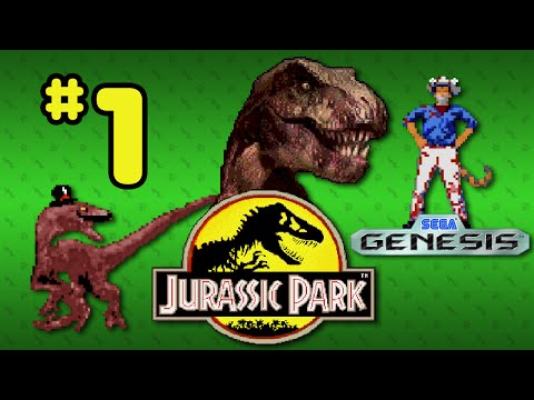 Jurassic Park (Genesis) - Part 1: Leaps Of Faith - Octotiggy